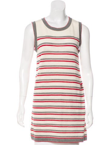 Chanel Striped Wool Top None