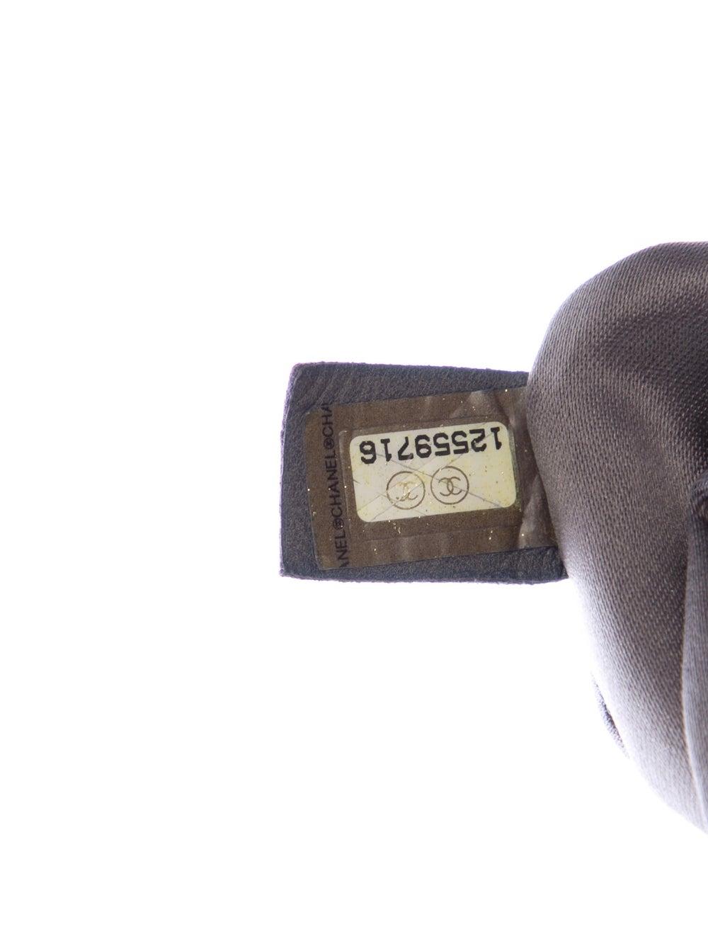 Chanel Tweed Stitch Bowler Bag Blue - image 5