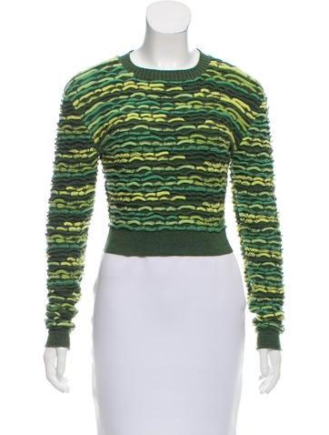 Chanel Cashmere Crop Top None