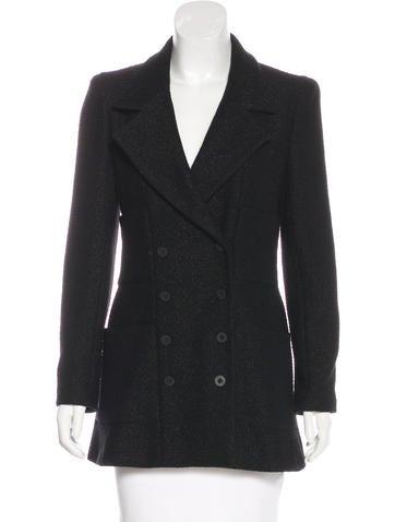 Chanel Tweed Short Coat None