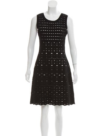 Product Name Chanel Knit Sleeveless Dress