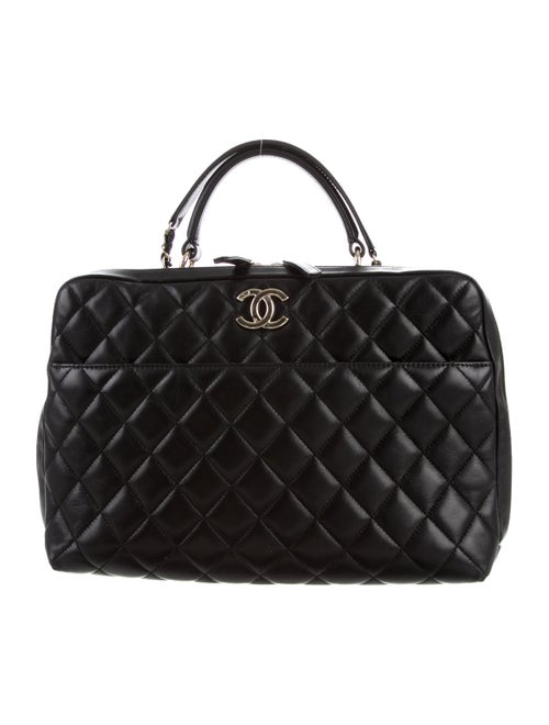 d8f6abcd5737 Chanel Trendy CC Large Bowling Bag - Handbags - CHA240873 | The RealReal