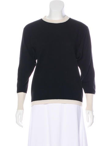 Chanel Cashmere Knit Sweater None