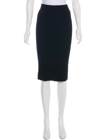 Chanel 2016 Cashmere Knit Skirt w/ Tags None