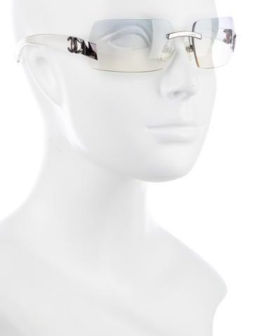 Rimless CC Sunglasses