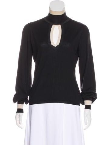 Chanel Cashmere & Silk Sweater None