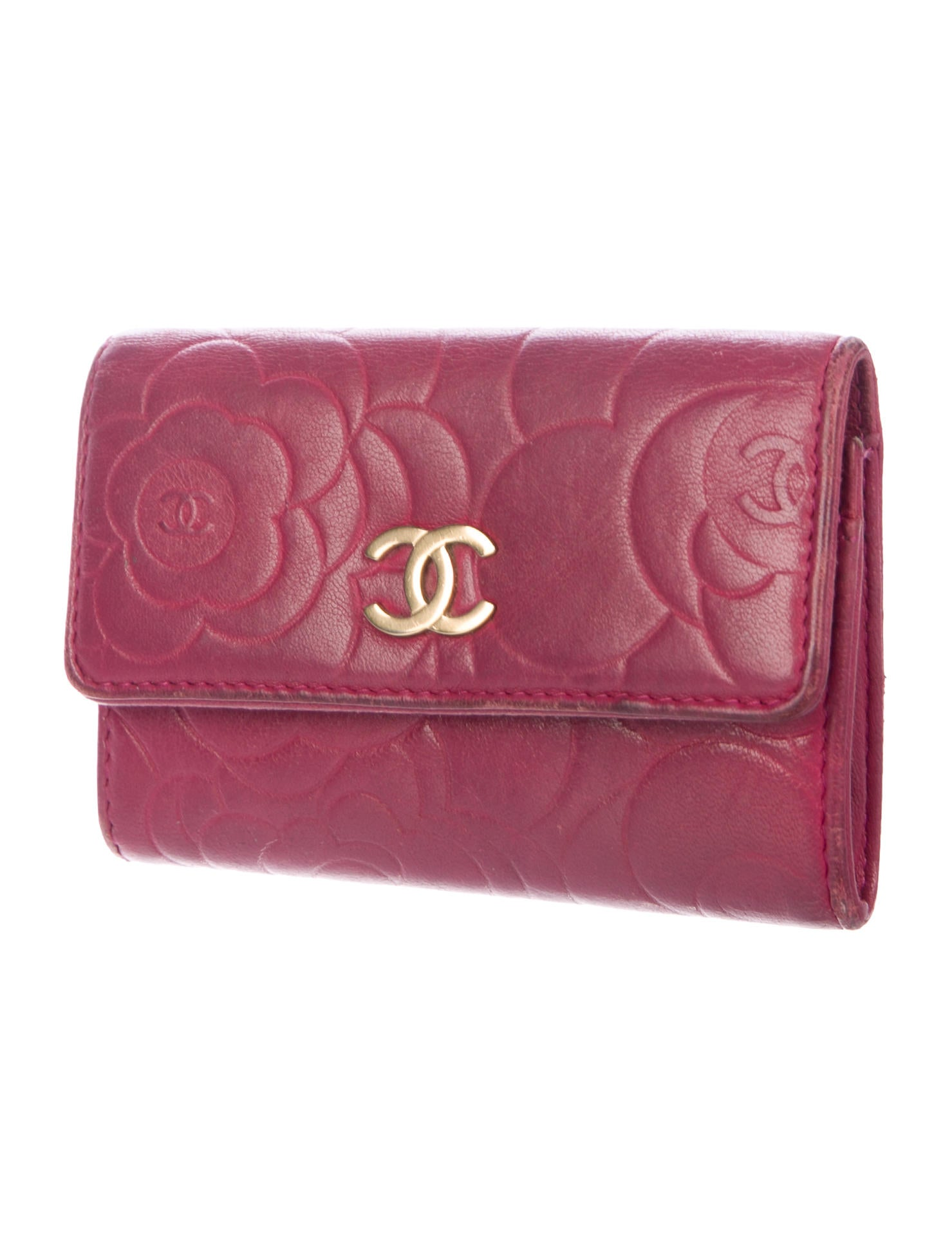 Chanel Camellia Business Card Holder - Accessories - CHA246125 | The ...