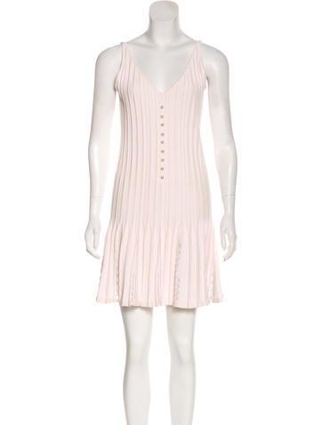 Chanel Pleated Mini Dress None
