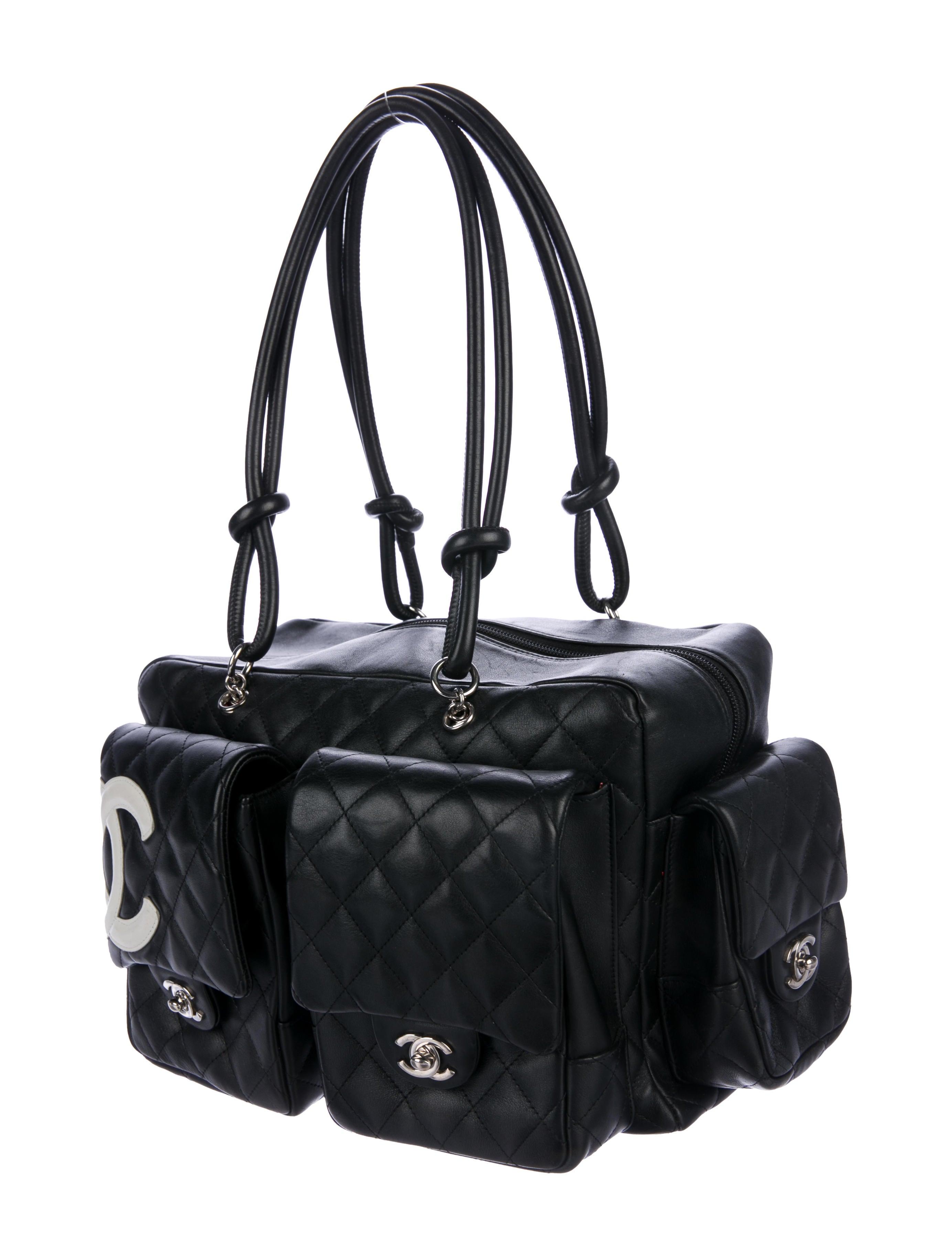 bece8532af16 Chanel Large Ligne Cambon Reporter Bag - Handbags - CHA248308