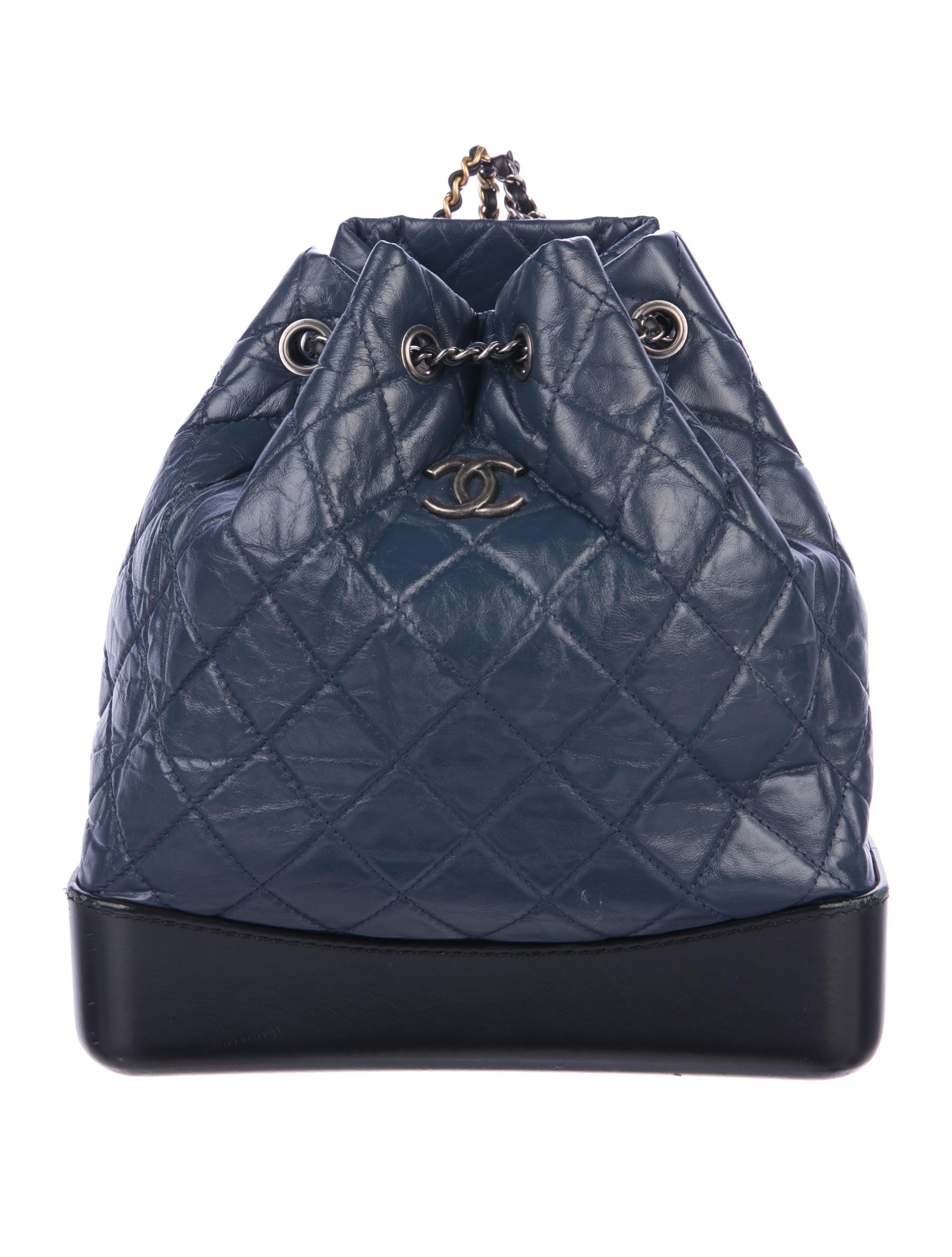 49e886098a8dcf Chanel 2017 Gabrielle Backpack - Handbags - CHA249578 | The RealReal