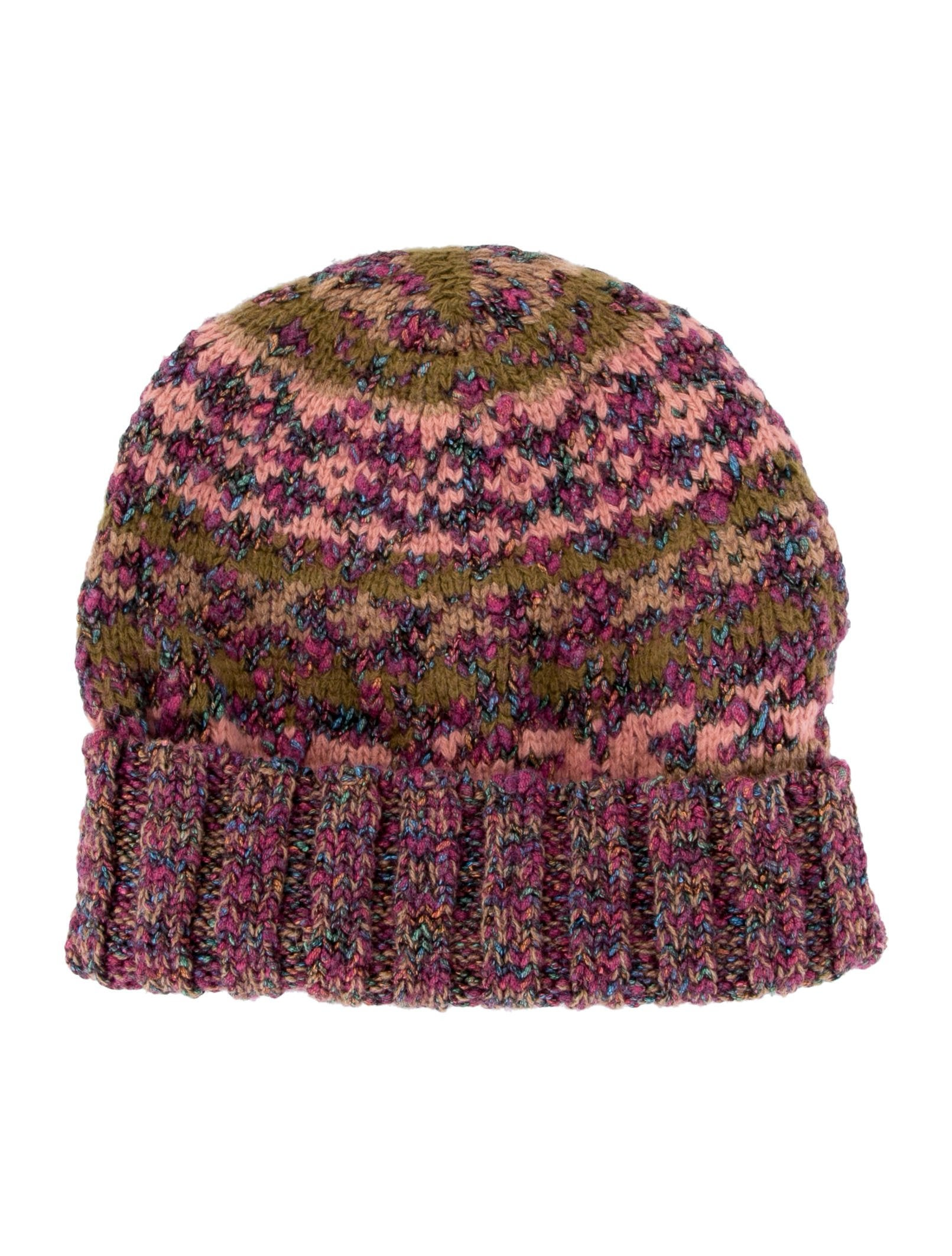 Chanel Multicolor Knit Beanie w  Tags - Accessories - CHA249866 ... 0224b79ca7c