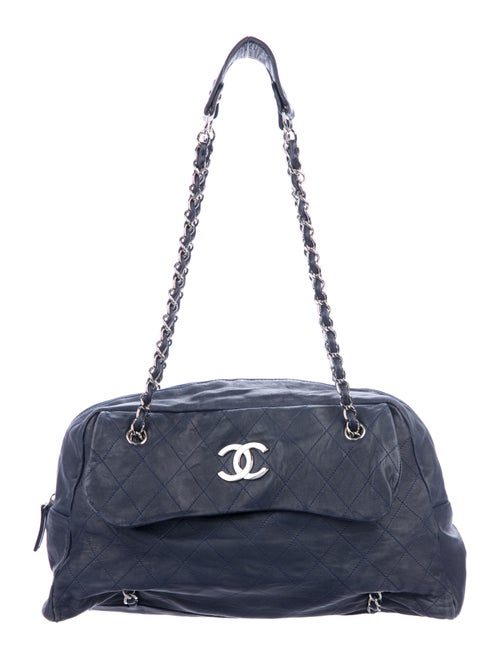 b4b7ec9845e3 Chanel Sharpei Flap Bowler Bag - Handbags - CHA251319 | The RealReal
