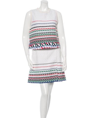 Chanel Spring 2016 Embroidered Skirt Set w/ Tags None