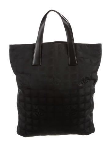 Chanel Travel Line Tote - Handbags - CHA252331  24eccb0cbf9c3