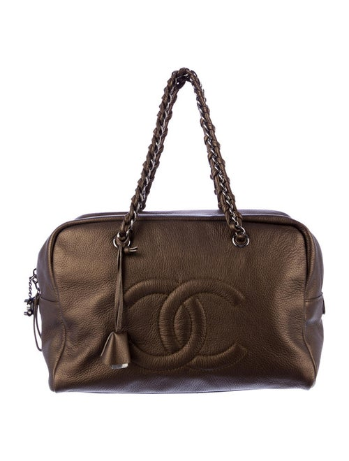 4eecd23af9bf Chanel Luxe Ligne Large Bowler Bag - Handbags - CHA25631 | The RealReal