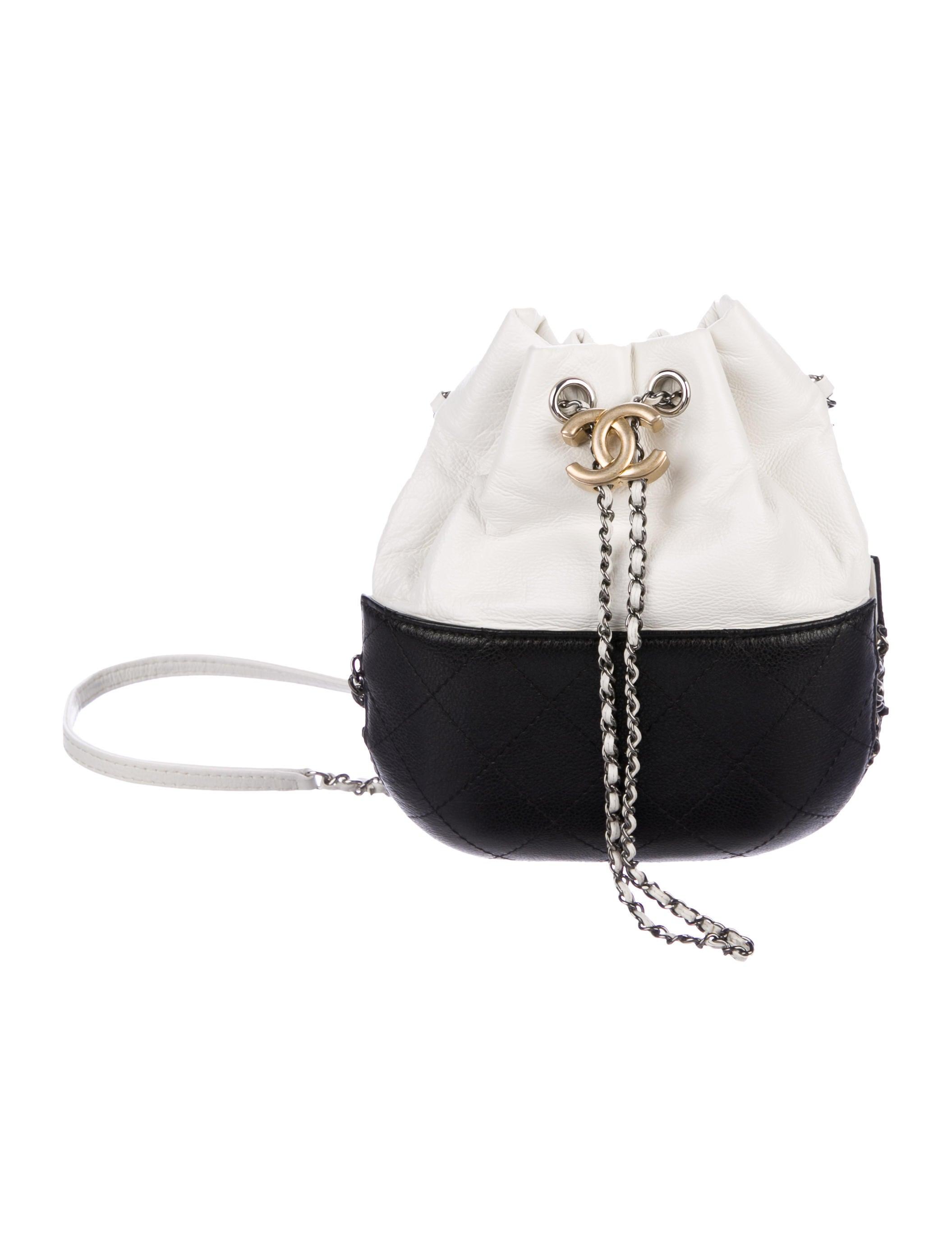 0d5a8262909c Chanel 2017 Small Gabrielle Bucket Bag - Handbags - CHA258544
