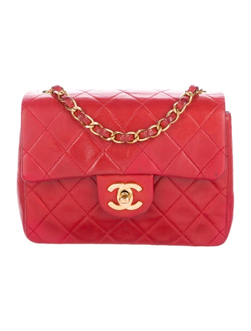 b41b780630d4 Chanel Vintage Classic Square Mini Flap Bag - Handbags - CHA259787 ...