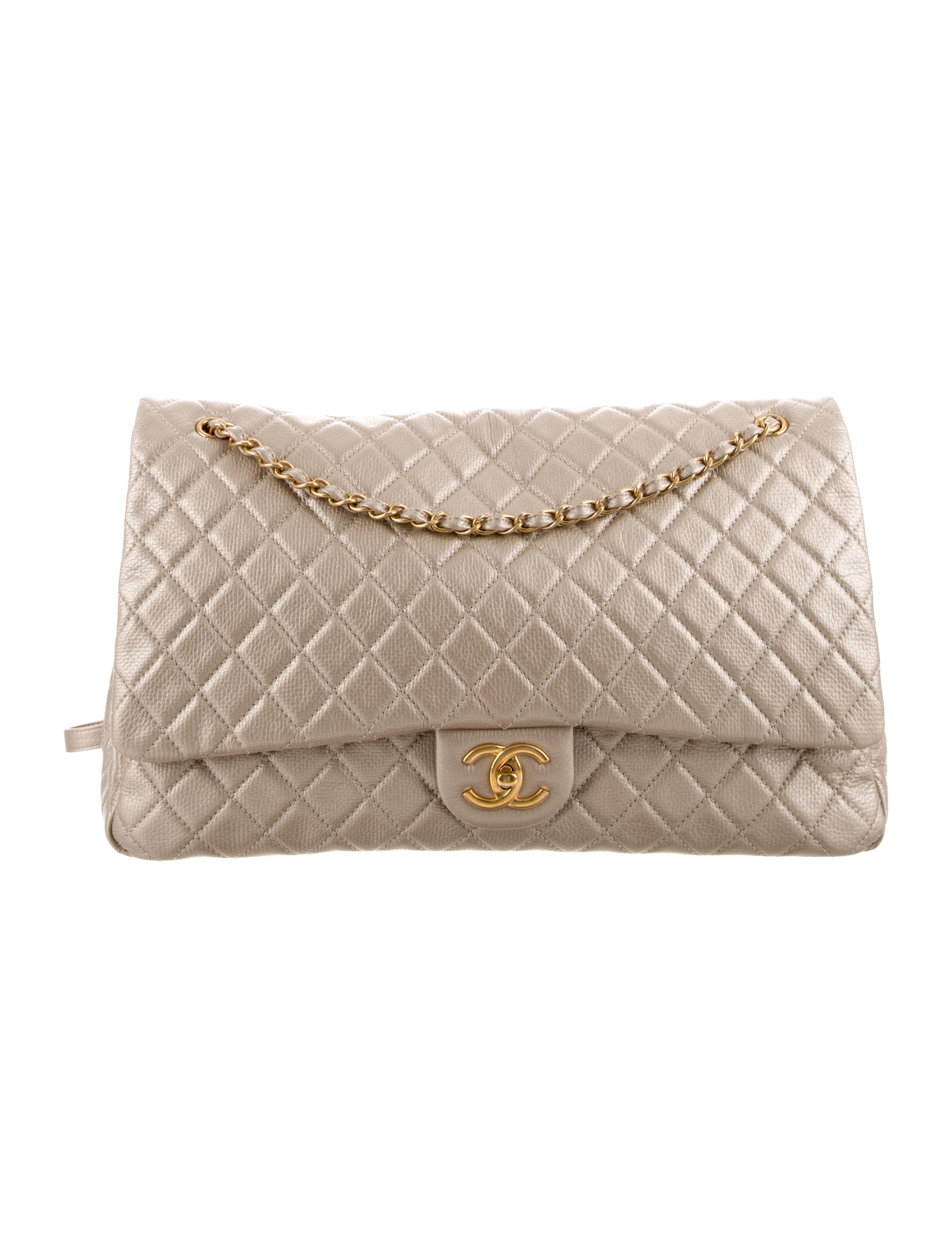 a2ed8fbef629 Chanel XXL Airline Classic Flap Bag - Handbags - CHA262352 | The ...