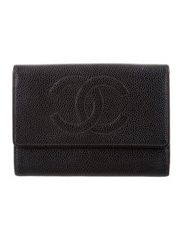 Chanel 2017 boy business card holder accessories cha266902 the product namechanel timeless trifold wallet reheart Choice Image