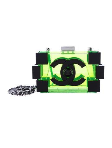 Lucite Lego Clutch