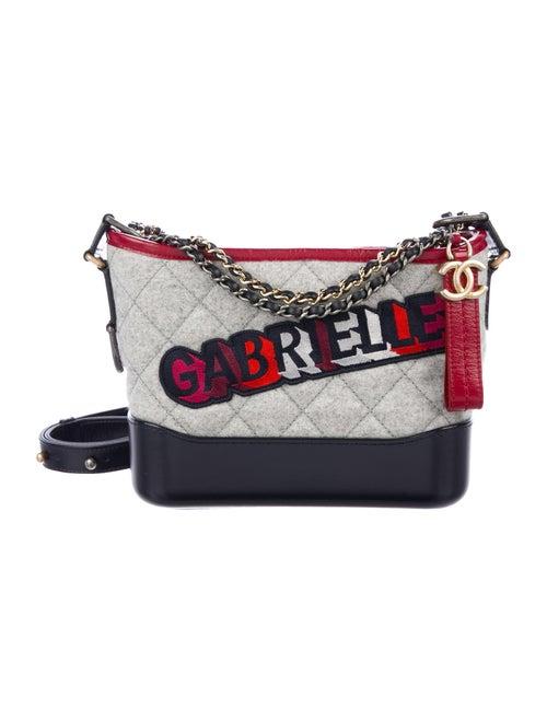 fedeb019f3c71e Chanel 2017 Small Felt Gabrielle Hobo - Handbags - CHA269140   The ...