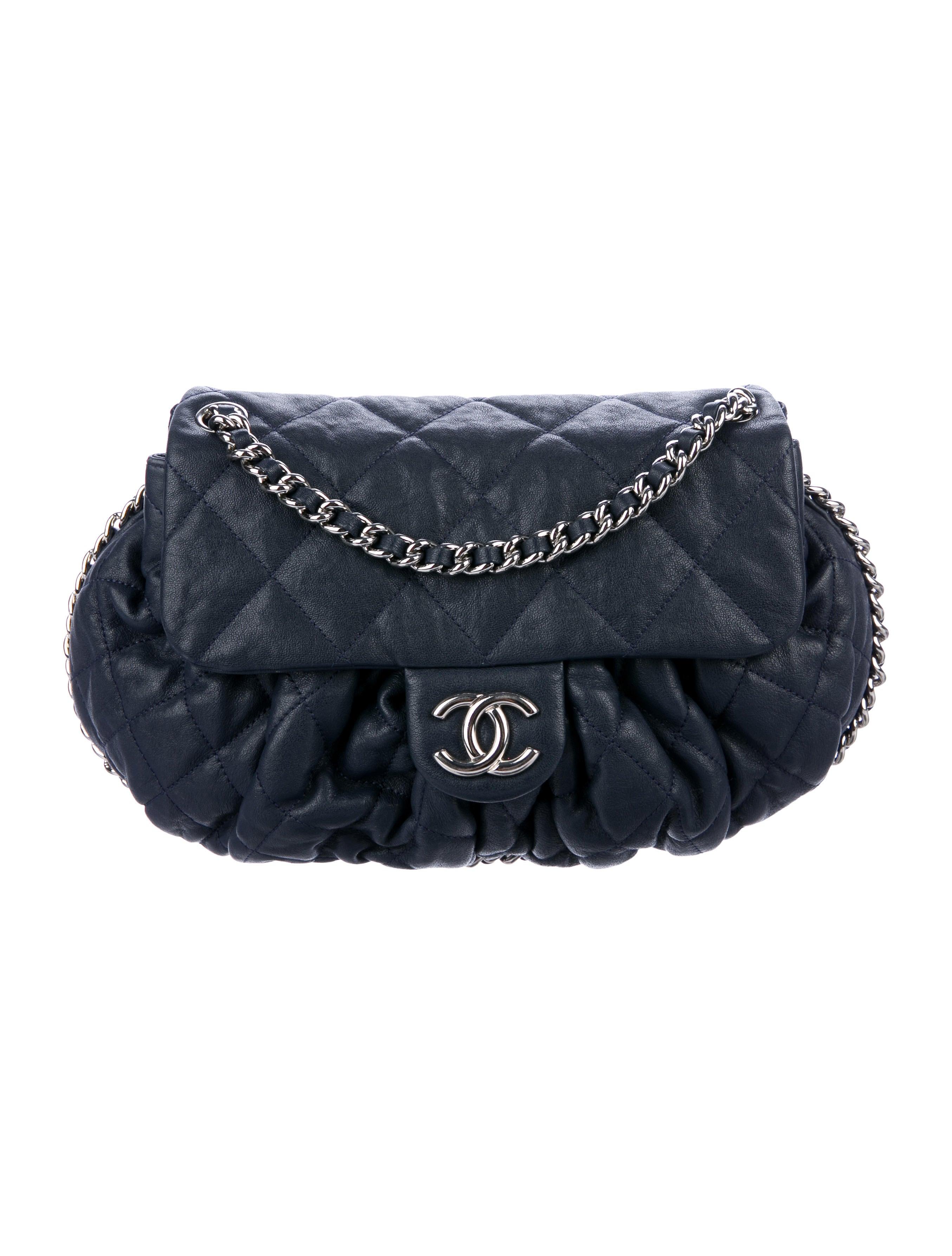 168050fcb4cc Chanel. Large Chain Around Messenger Bag. $2,250.00. Denim Patchwork Jumbo  Flap ...