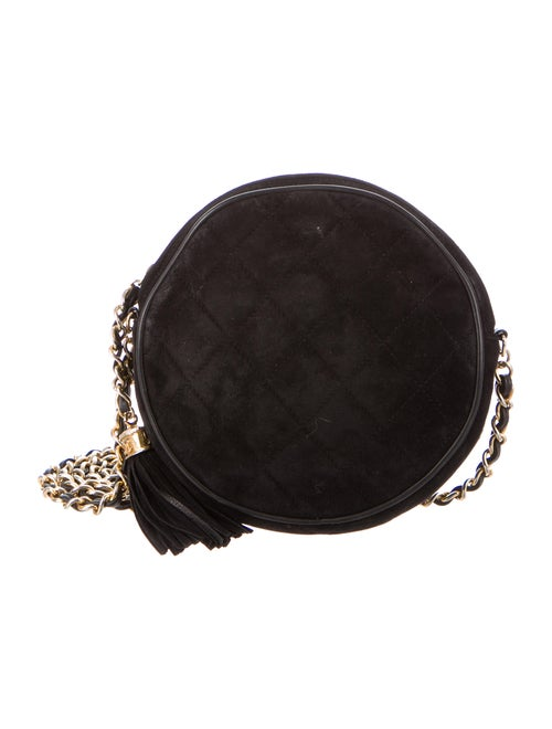 5b942d337a83 Chanel Vintage Suede Crossbody Bag - Handbags - CHA275011 | The RealReal
