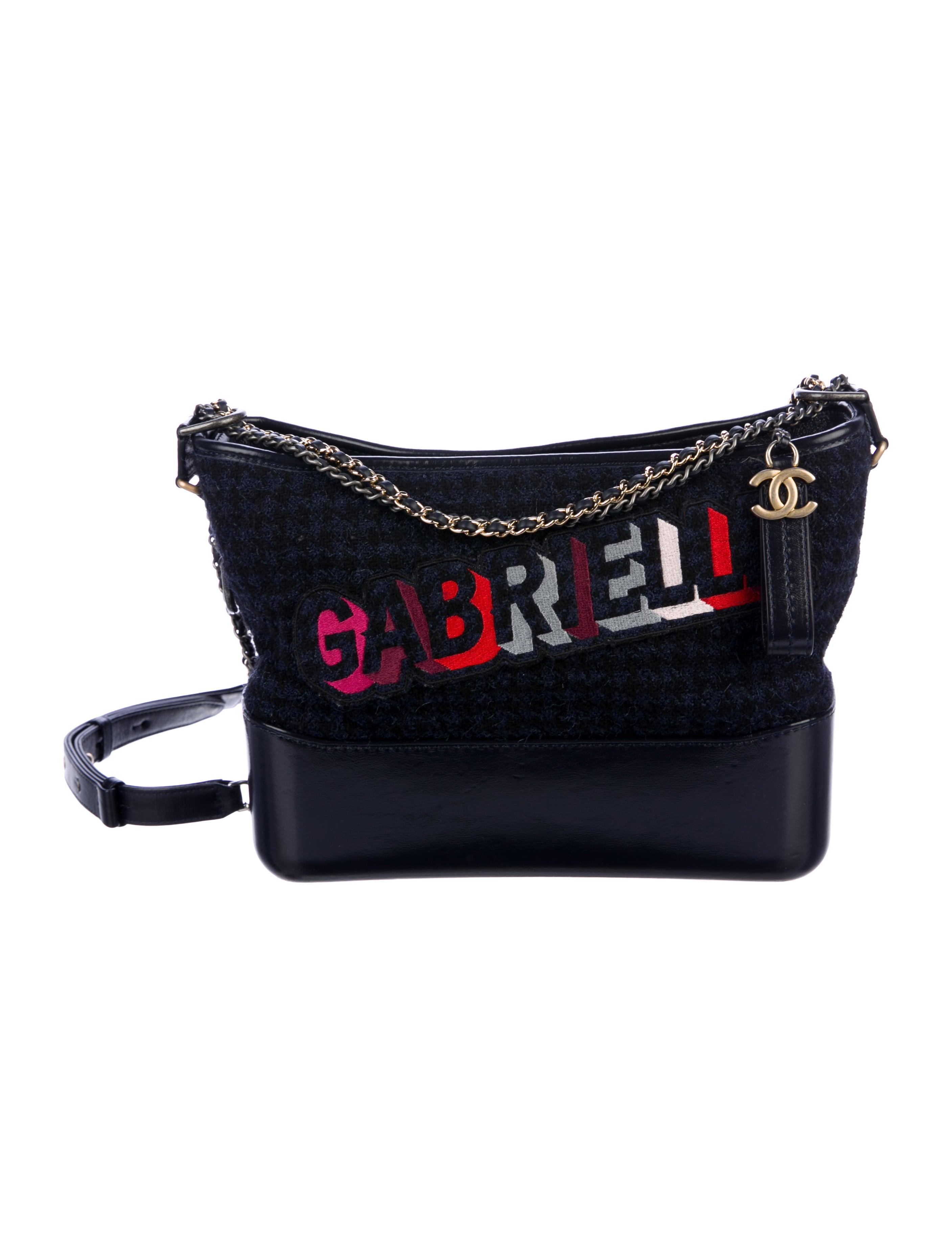 0eaca663fe50b7 Chanel 2017 Medium Tweed Gabrielle Hobo - Handbags - CHA276018 | The ...