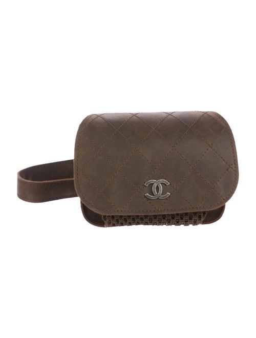 31e348234277 Chanel Paris-Edinburgh Mini Highlander Messenger Bag - Handbags ...