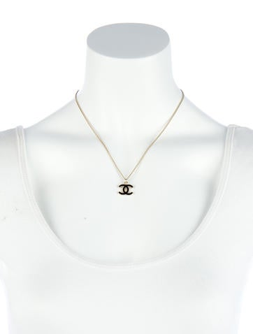 Interlocking Logo Necklace
