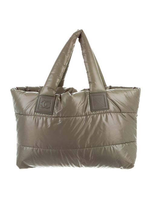 Chanel Coco Cocoon Tote Olive