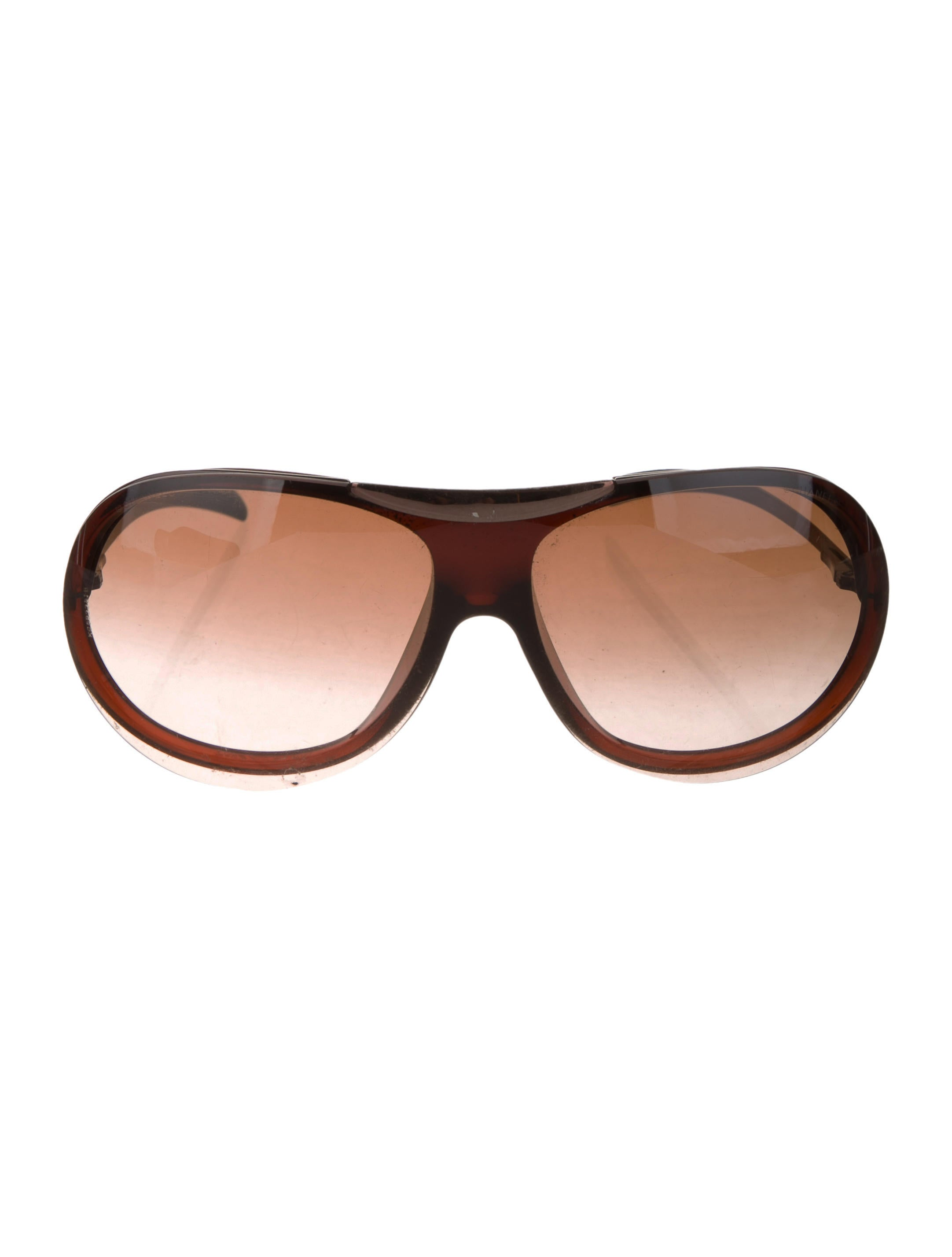 a624b0952ac Chanel Logo Shield Sunglasses - Accessories - CHA287653