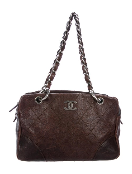934c109acaf692 Chanel CC Caviar Camera Bag - Handbags - CHA289466 | The RealReal