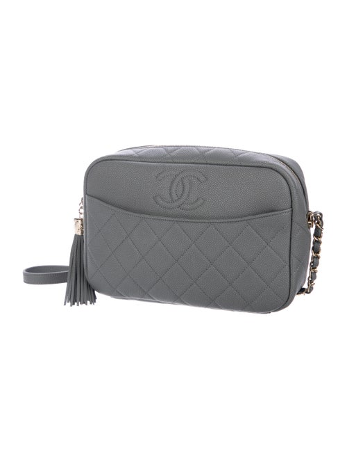 e91547b34e94 Chanel 2018 Grained Calfskin Camera Case w/ Tags - Handbags ...