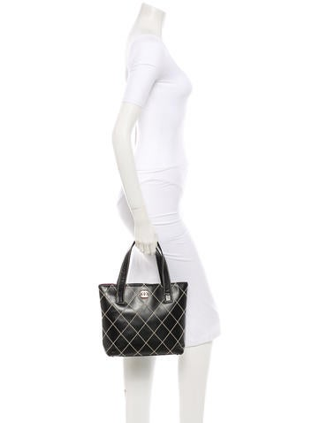 Surpique Quilted Tote