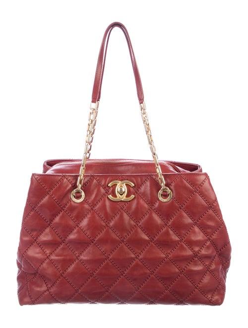 f0ff98cd5d04c Chanel Large Retro Chain Shopper - Handbags - CHA300658