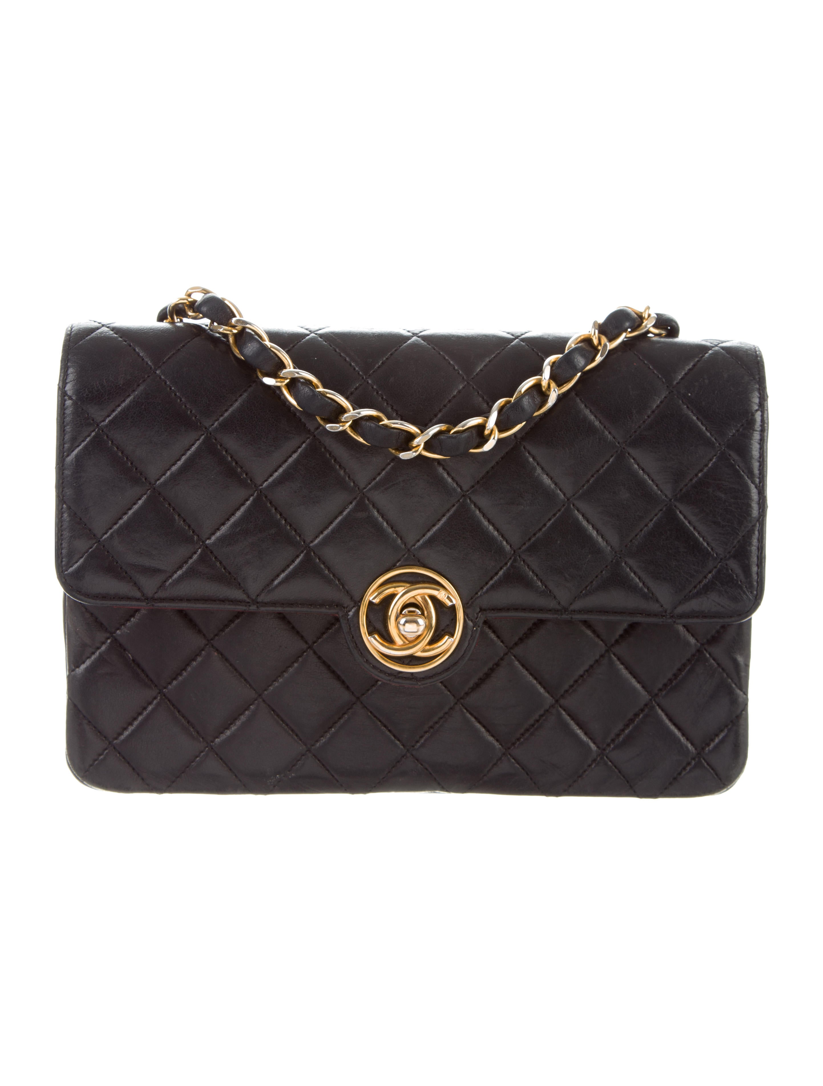 d36d8accac13 Chanel Vintage Quilted Small Flap Bag - Handbags - CHA301033 | The ...