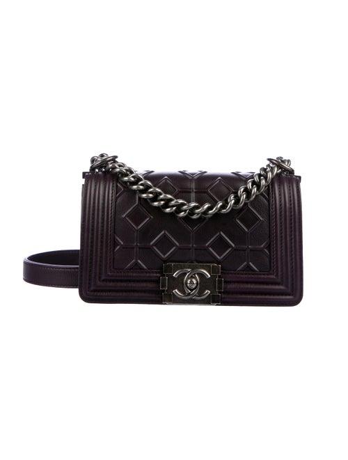 5e860bc6211ac7 Chanel Small Boy Arabesque Bag - Handbags - CHA303329 | The RealReal