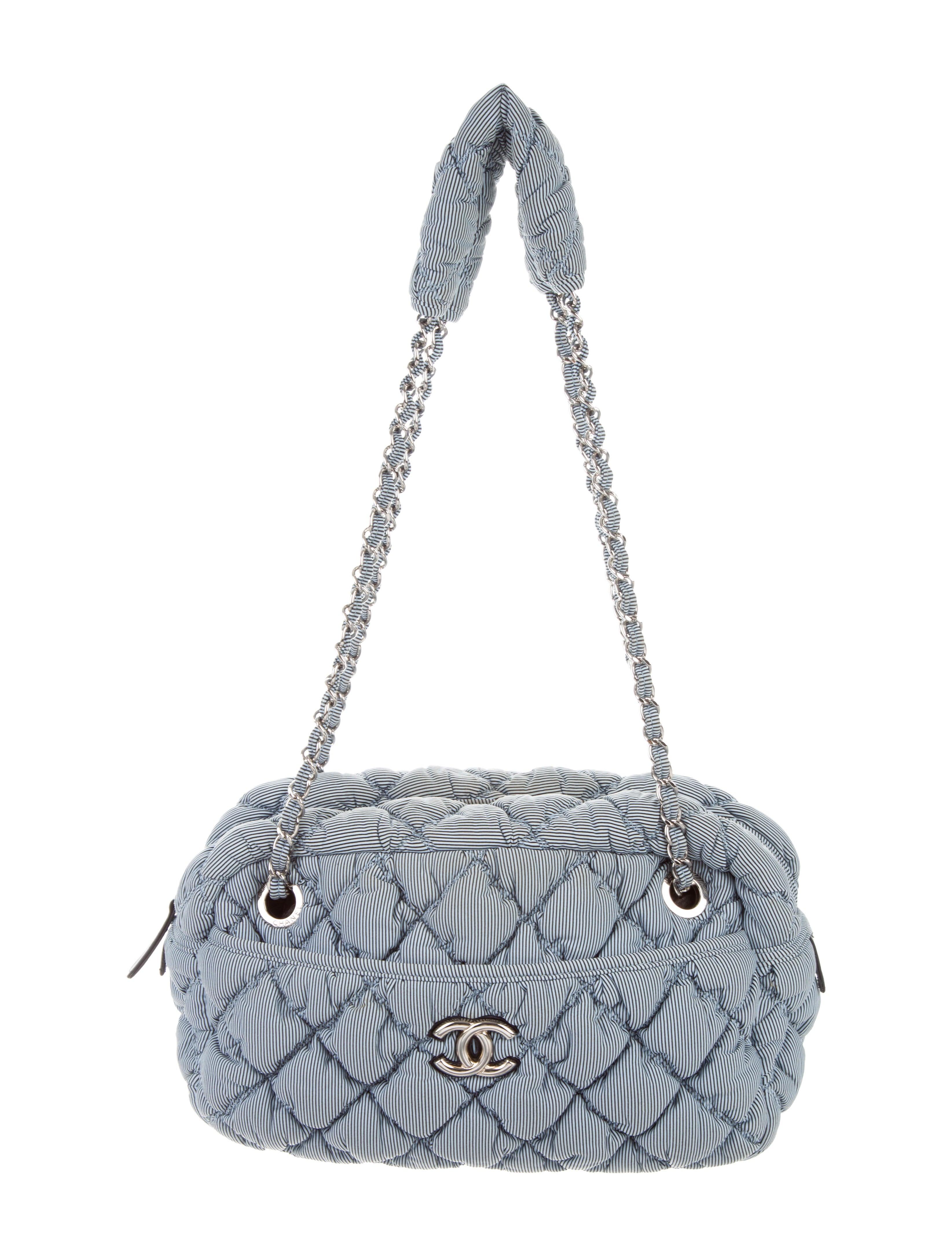 e748ed9ffc3 Chanel Bubble Quilt Camera Bag - Handbags - CHA303938