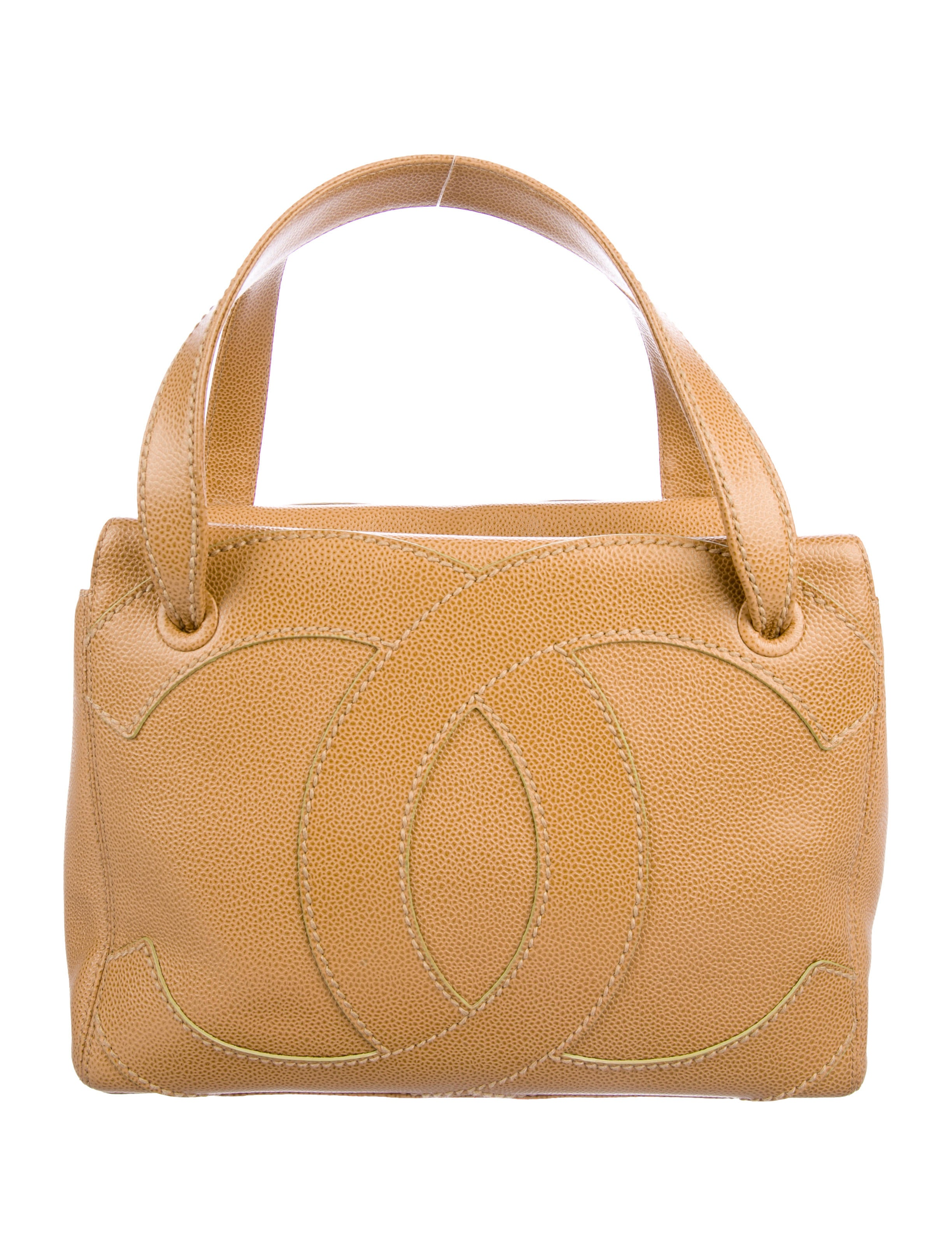 2cca71479407 Chanel CC Surpique Tote - Handbags - CHA305002   The RealReal