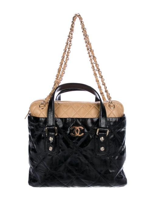 755f4af9ae3c Chanel Glazed Calfskin Portobello Tote - Handbags - CHA306381