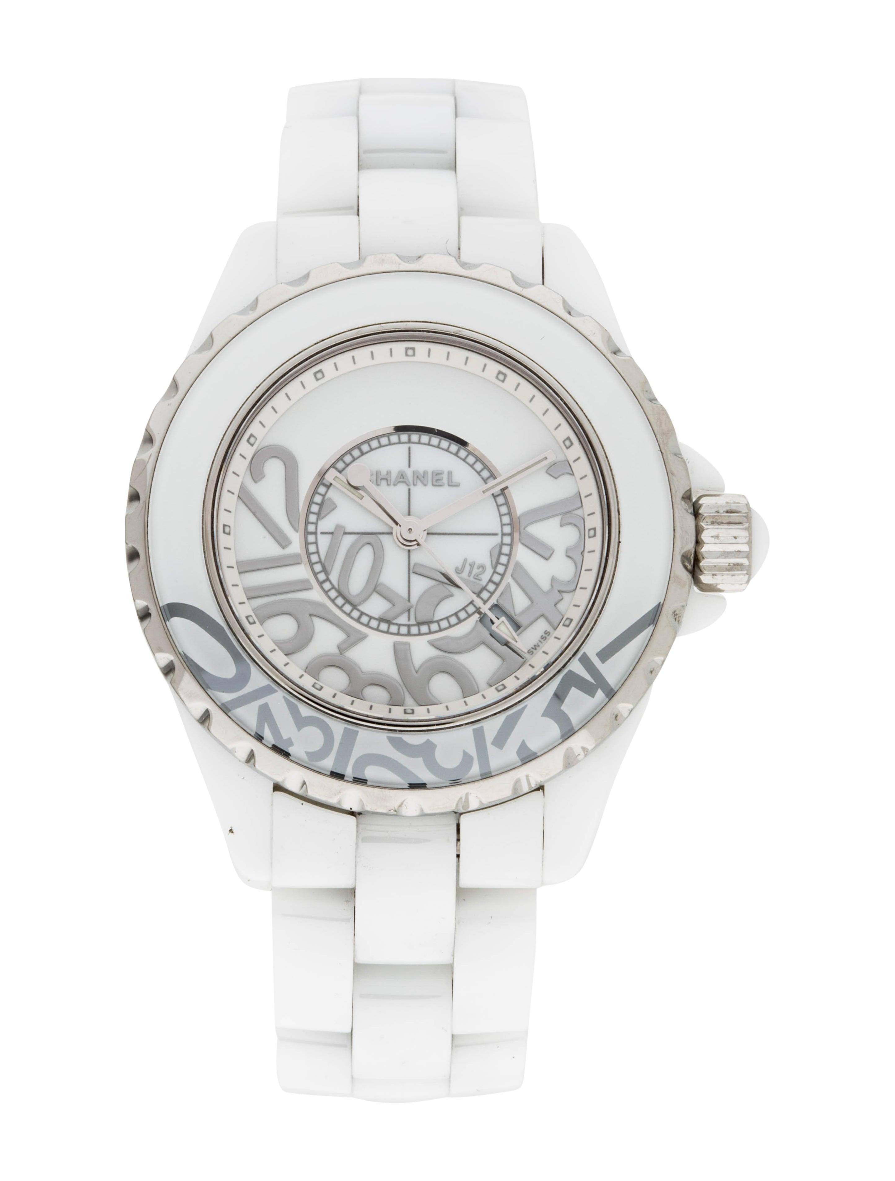 ac381056de837 Chanel J12 Graffiti Watch - Bracelet - CHA307872