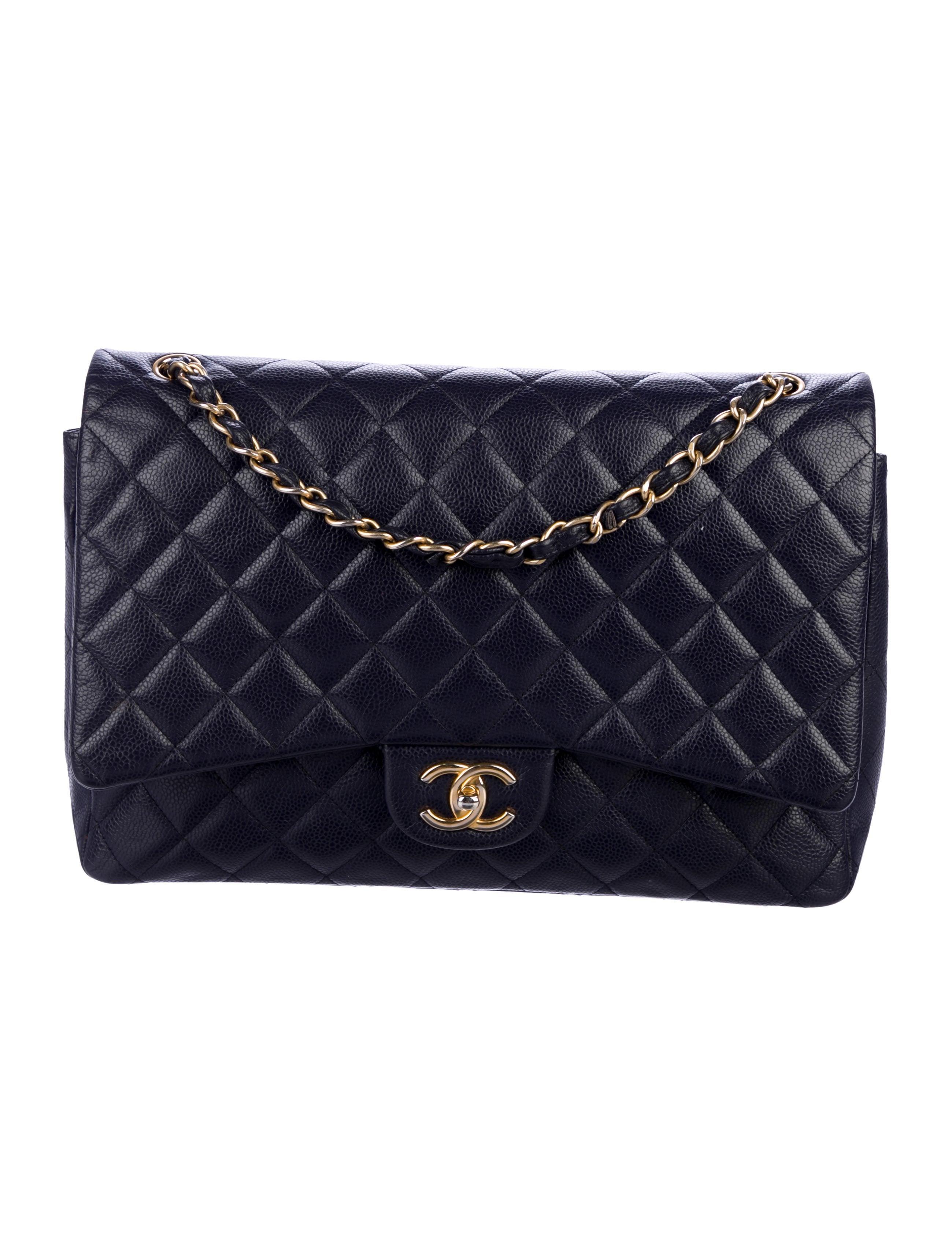 479985c99df45 Chanel Classic Maxi Double Flap Bag - Handbags - CHA313040