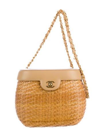 Chanel Wicker Basket Bag - Handbags - CHA31511 | The RealReal