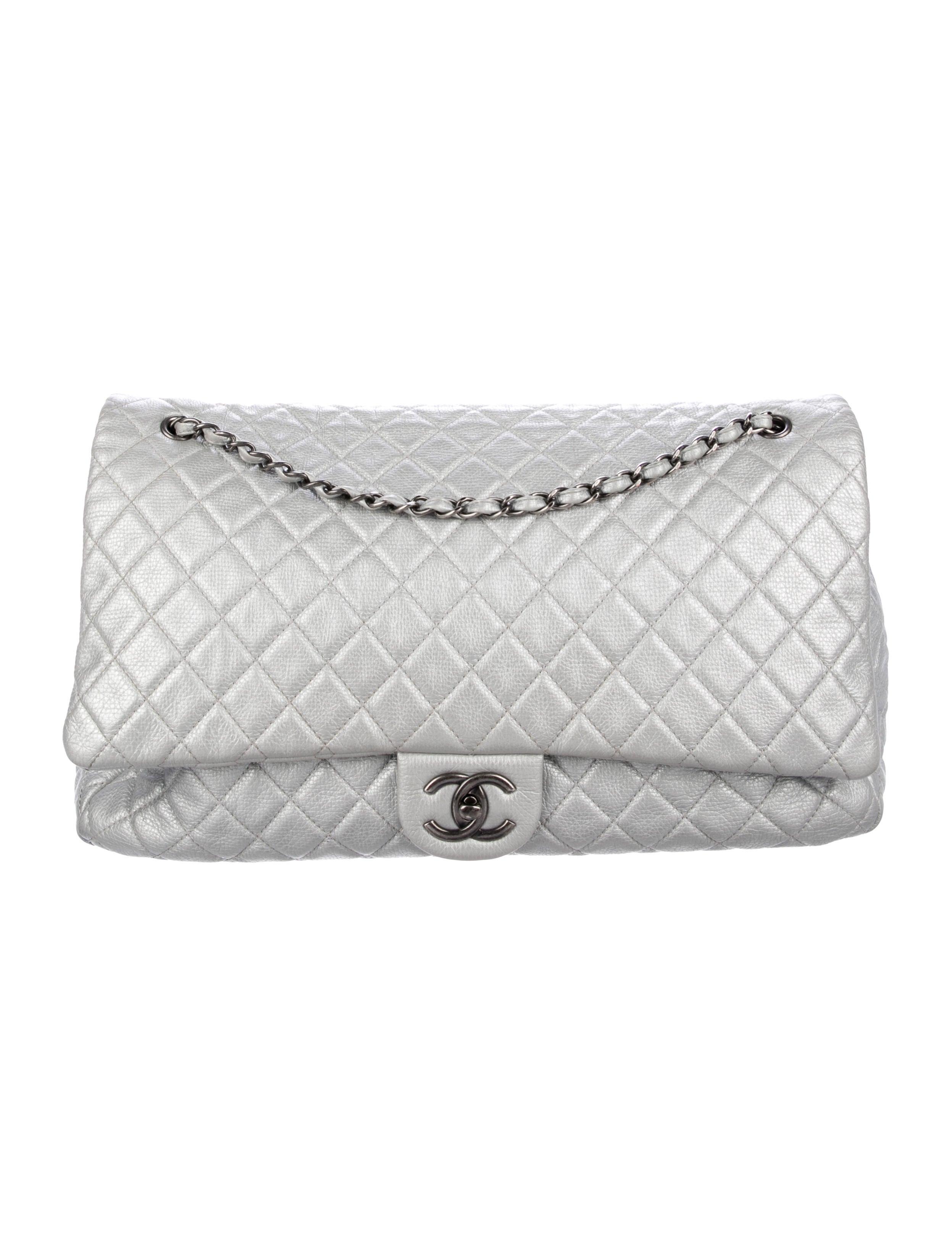 0f4b8f69732b Chanel XXL Airline Classic Flap Bag - Handbags - CHA316563 | The ...
