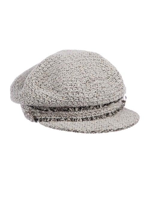 5e1bca2a477 Chanel Paris-Dubai Tweed Hat - Accessories - CHA316887