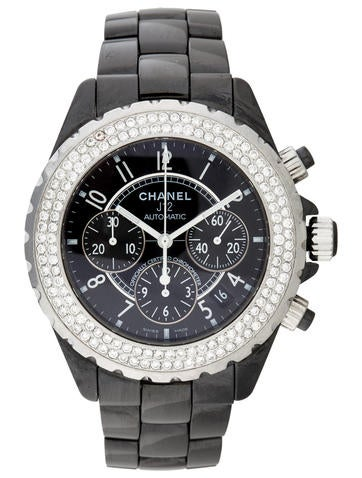 J12 Diamond Automatic Chronograph