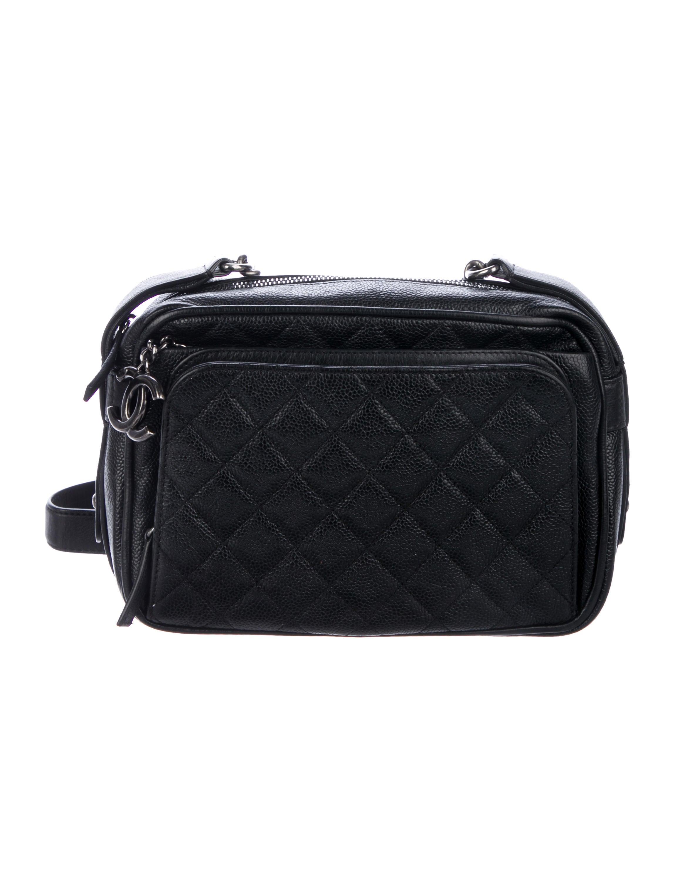 6331be46e4f6 Chanel Medium Business Trip Camera Bag - Handbags - CHA318065 | The ...