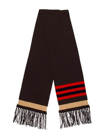 Embellished Cashmere Scarf.  445.00 · Chanel 1d09adce9a6