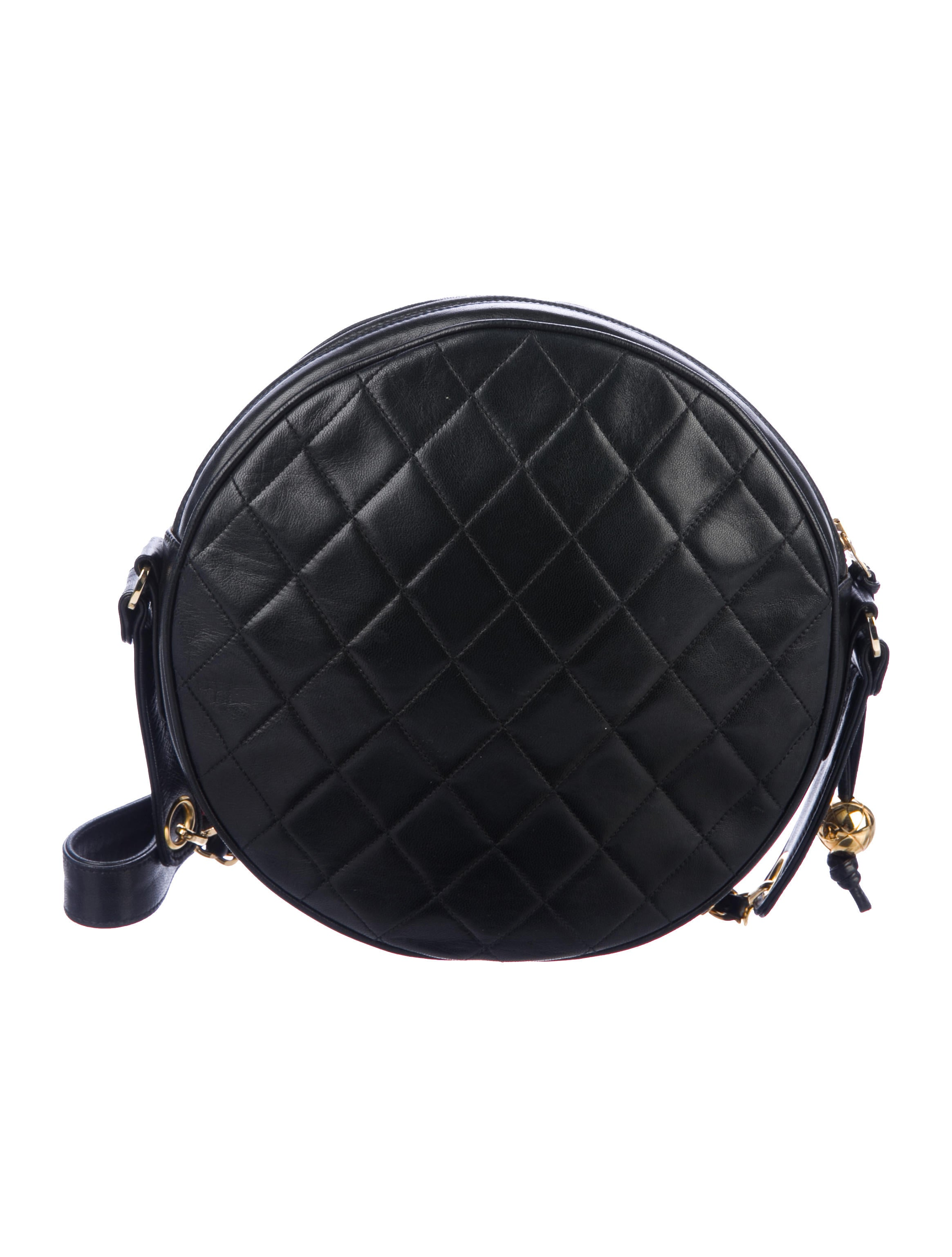 1af81764b37a Shoptagr | Vintage Quilted Circle Bag by Chanel